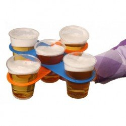 SOPORTE PLEGABLE PARA VASOS BEER HOLDER