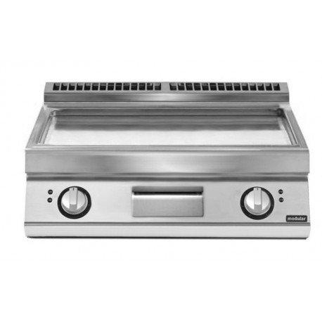 Fry top eléctrico plancha cromada versión top  10,8 kW Total