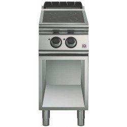 Cocina inducción 2 zonas de cocción Ø 280