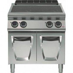 Cocina inducción 4 zonas de cocción Ø 280