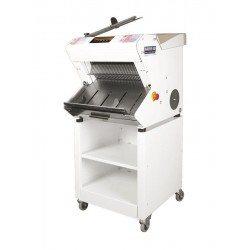 Cortadora de pan automática de sobremesa inclinada con base