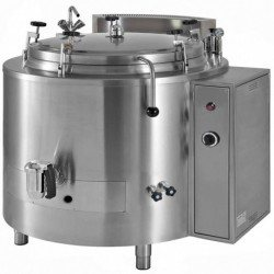 Marmita a gas indirecta con presión 160 Litros PNGI-150A