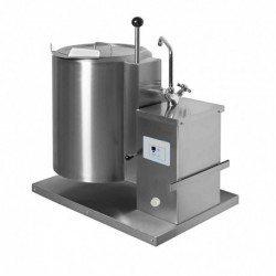 Marmita compacta eléctrica directa de 40 Litros PRT-40T con basculación manual