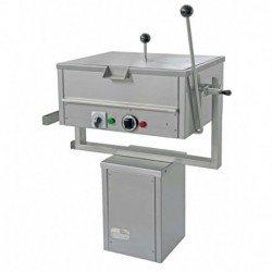 Sartén eléctrica rectangular de - Litros MNN-1 con basculación manual