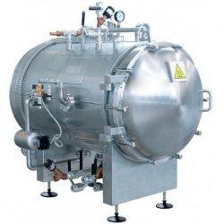 Esterilizador horizontal autoclave a vapor de 870 litros
