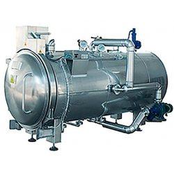 Esterilizador horizontal autoclave a vapor de gran capacidad de 2000 litros