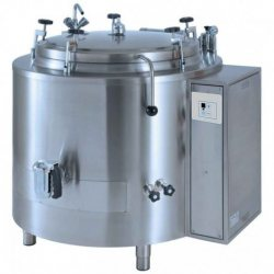 Marmita a presión con autoclave eléctrica indirecta 330 Litros PEIF-300A