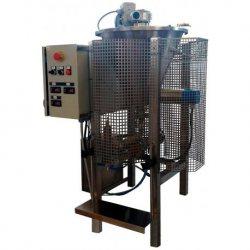 Dosificadora llenadora de sobremesa calefactada para productos cosméticos