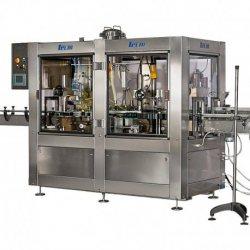 Llenadoras y taponadoras rotativas de estrella automáticas 2000–3500 pz/h