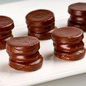 Cintas de bañado de chocolate