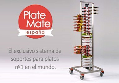 Soportes para platos Plate Mate